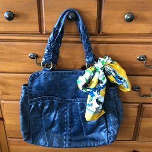 Anthropologie Lucky Penny shoulder bag